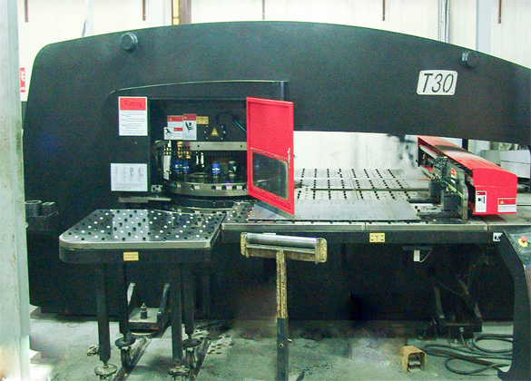 CNC Hydraulic Turret Punch Press