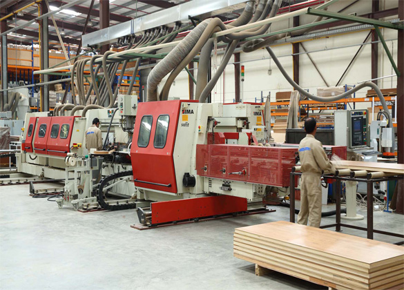 Double End Cut and Edge Bending Machine