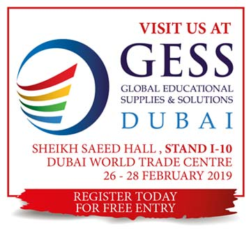 GESS DUBAI 2019 <br/>February 26–28, 2019 <br/>Sheikh Saeed Hall – I10 <br/>Dubai World Trade Centre