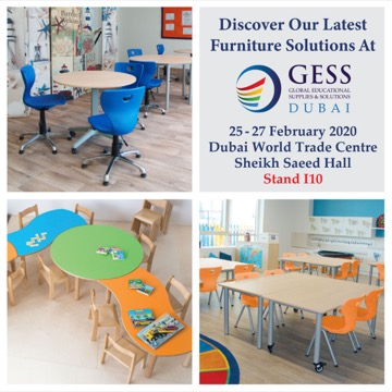 GESS 2020</br>  February 25-27, 2020</br>  Stand I10, Dubai World Trade Centre</br>  Dubai, UAE