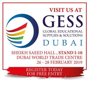 GESS DUBAI 2019 <br/>February 26–28, 2019 <br/>Sheikh Saeed Hall – I10 <br/>Dubai World Trade Centre